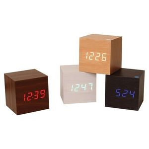Cube Desk Alarm Clock Displays